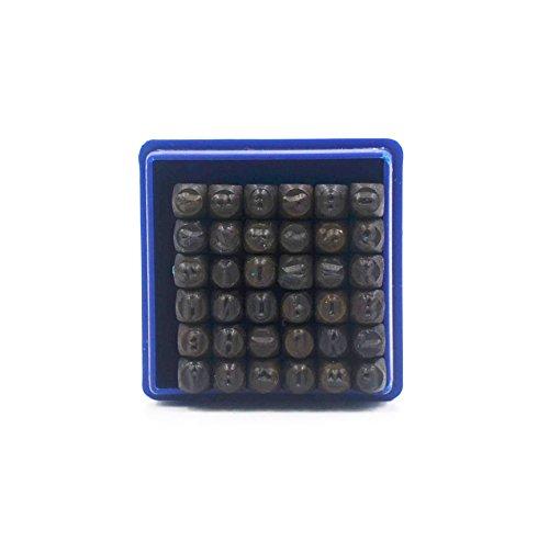 [해외]Skylly 36 Pc 편지 및 번호 금속 스탬프 세트 (1 8 3MM)/Skylly 36 Pcs Letter and Number Metal Stamp Set (1 8  3MM)