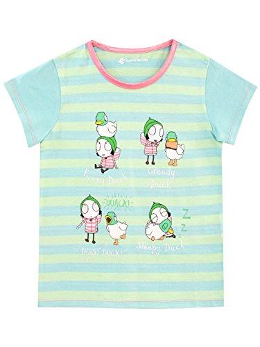 Sarah & Duck Girls Ducks T-Shirt Size 18M Green