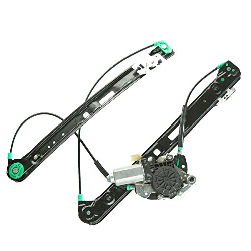 Front Right Passenger Side Power Window Regulator with Motor for BMW E46 325i 328i 330i 1999-2005 Sedan Wagon