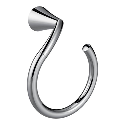Moen YB2386CH Glyde Towel Ring, Chrome by Moen