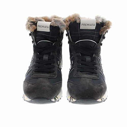 661c530b1523d Zapatos Hombre Botas Botines Premiata Alan Gris 44  Amazon.es  Zapatos y  complementos
