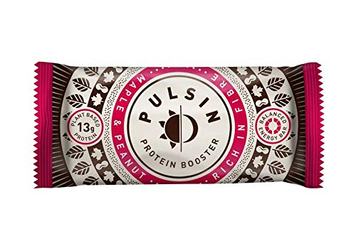 Pulsin' | Maple & Peanut Protein Bar | 18 x 50g