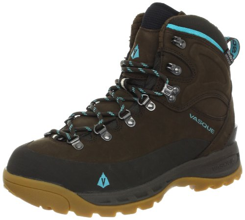 Vasque Women's Snowblime Winter Hiking Boot, Turkish Coffee/Scuba Blue,9.5 M US