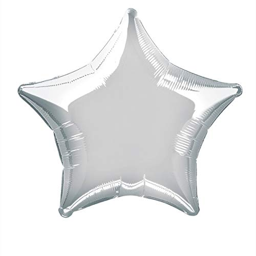 20'' Foil Silver Star Balloon