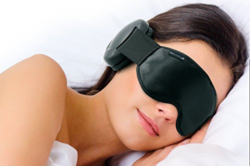 Sleep Mask - This Satin Sleeping Mask Is the Best Eye Mask for Men Women and Kids. It Has an Extremely Comfortable Design That Blocks All Light and Is Odorless Guaranteed! Nightowl REM Sleep Mask Is the Best Product for Your Travel and Sleep Needs!