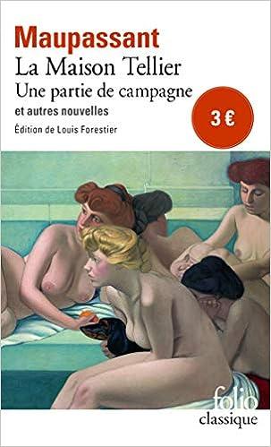 Maison Tellier Folio Gallimard French Edition Maupassant G De Maupassant Guy 9782070394012 Amazon Com Books