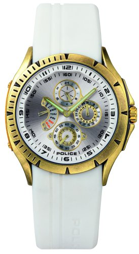 Police Men's Stainless Steel Multi-function Watch #PL11425JSAG01