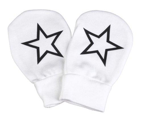 Spoilt Rotten - Stars Design 100% Organic Cotton Scratch Mittens