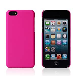 TopCase Premium Slim New Released iPhone 5C Light Weight Matte Back Protective Hard Cover Case (PINK) by ruishername