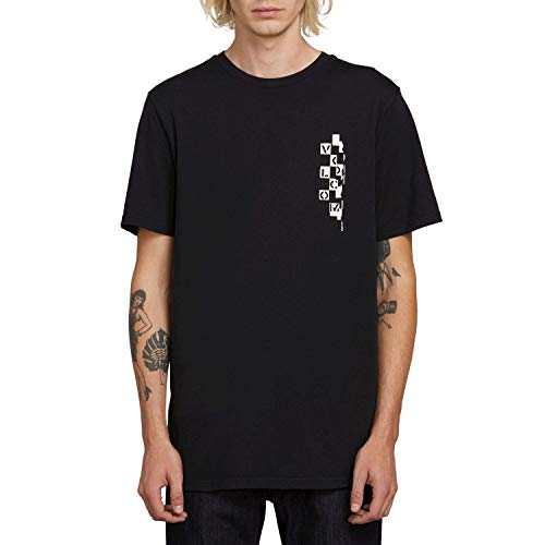 (Volcom Multi Eye (Black) T-Shirt-Medium)