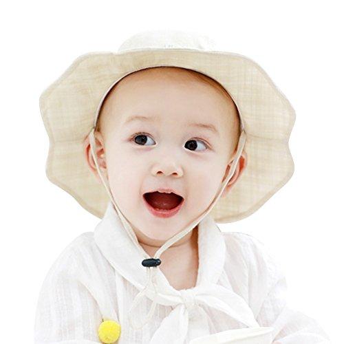 Nile Organic Cotton Bear - IMLECK Organic Cotton Baby Sun Hat Summer Outdoor Sun Protection Hat