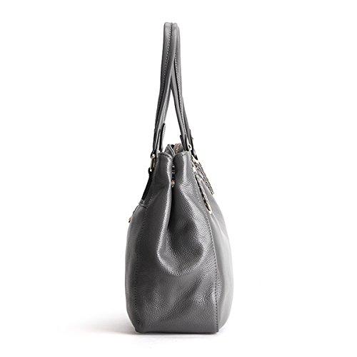 Sac 1820 cuir femme épaule bandoulière à en fashion main Sac Sac main Valin portés Sac LF Gris portés 5U4q0xE