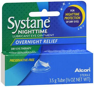 Systane Nighttime Lubricant Eye Ointment 3.50 g (Pack of ()