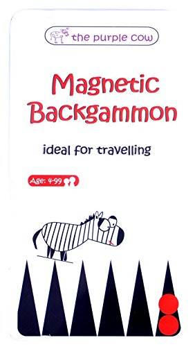 Magnetic Travel Backgammon Game - Car Games , Airplane Games and Quiet Games - Italian Backgammon