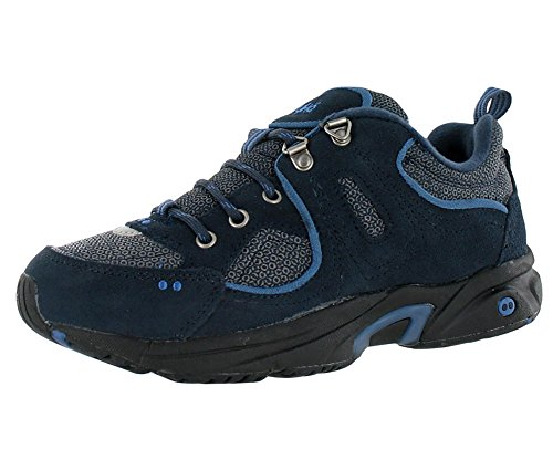 Ryka RTC Outdoor Women's Walking Shoes Size US 8.5, Wide Width, Color Blue/Black/Navy (Hiking Wide Shoes Width)