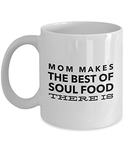 14k Slipper (Mom Makes The Best Of Soul Food There Is, 11Oz Coffee Mug for Dad, Grandpa, Husband From Son, Daughter, Wife for Coffee & Tea Lovers)