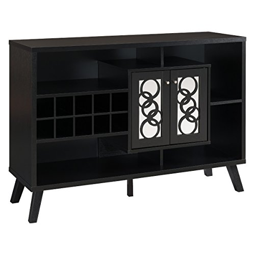 10 Slot Dining Room Server -Black - Dining Room Painted Cabinet