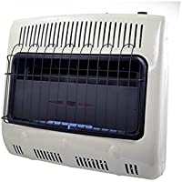 Mr. Heater, Corporation F299735 30,000 BTU Vent Free Natural Gas Garage Heater, MHVFGH30NGBT