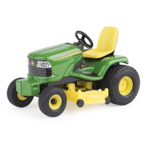 Tractors Toy Model (John Deere Lawn Tractor 1/32 Scale, Green, Yellow)