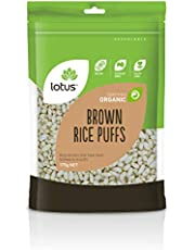 Lotus Organic Puffed Brown Rice 175 g, 175 g