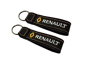 Moto Discovery Renault cordón Llavero Doble Cara (1 Pieza ...