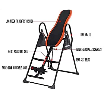 LMZZGAOYANIQNG Inverted Machine Home Fitness Equipment Stretching Abdomen Upside  Down Device Inverted Inverted Hanging Upside Down