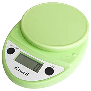 Escali Primo Digital Multifunctional Scale, Lime Green