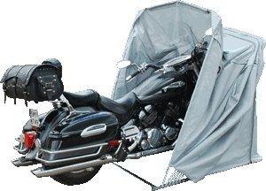 Motorrad Faltgarage - motomonster Motorradgarage XL Grau