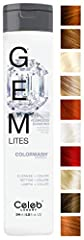 VIBRANT BOLD COLOR  Say goodbye to dull, lifeless color that fades after a few washes. With Gem Lites' line of amazing color-rich enhancer shampoos, you can extend and infuse colored vibrancy into each strand of your hair, enhancing the color...