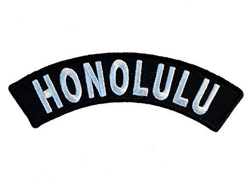 HONOLULU Rocker Embroidered Patch 3 inch IVANP3613