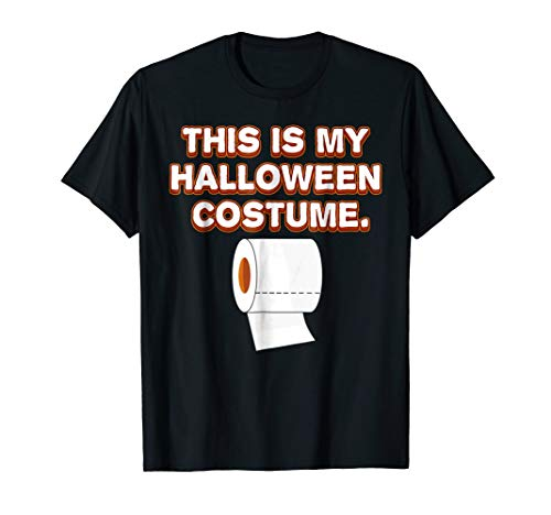 Trick or Treat This is my Toilet Paper Costume T-Shirt ()