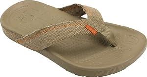 crocs Santa Cruz Flip Flop GS Sandal (Little Kid/Big Kid) by crocs