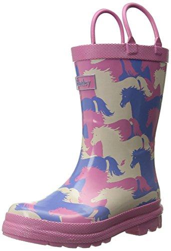 Hatley Girls Rainboots Puzzle Horses