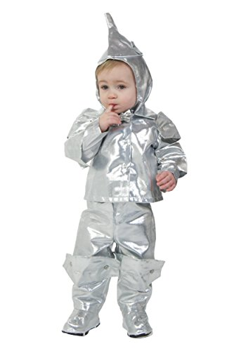 Little Boys' Deluxe Toddler Tin Man (Tin Man Baby Costume)