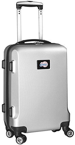 NBA Los Angeles Clippers Carry-On Hardcase Spinner, Silver by Denco