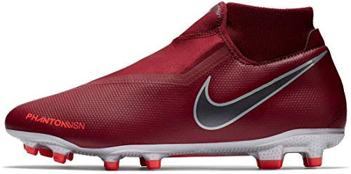 000c6986e3f Nike Hypervenom Phantom Vision Academy DF MG Soccer Cleat (Team Red) (Men s  9 Women s 10.5)