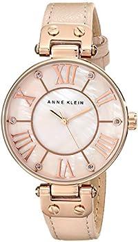 Anne Klein Pink Mother of Pearl Dial Ladies Watch