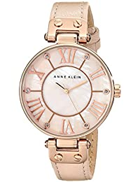 Women's 10/9918RGLP Rose Gold-Tone Watch with Leather Band