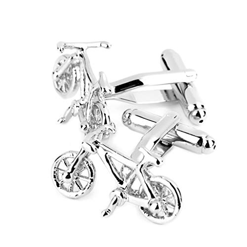 - Bicycle Shirt Suit Cufflinks Cuff Links Wedding Office Jewelry Gift