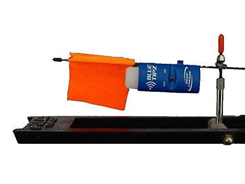 Ice fishing tip up alert transmitter light blue tooth for Tip up lights for ice fishing