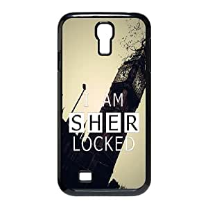 SamSung Galaxy S4 9500 phone cases Black Sherlock fashion cell phone cases UTRE3317711