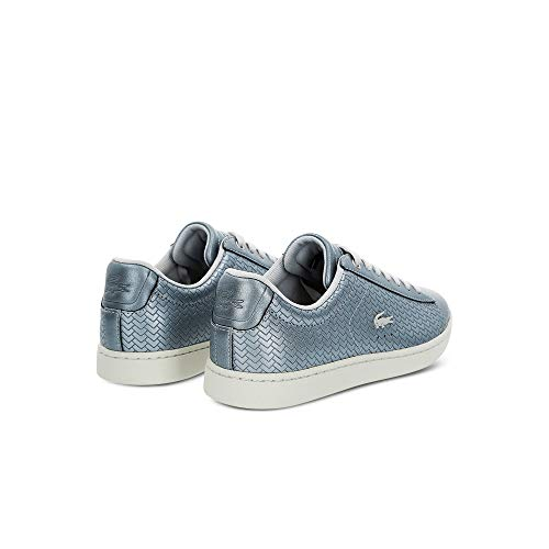 Silver Evo Lacoste Baskets Carnaby Femme Mode ng7xxp0qz