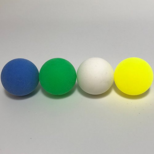 Warrior Table Soccer Official Tournament Pro Game Foosball Balls Multi Color Pack (8 Pack)