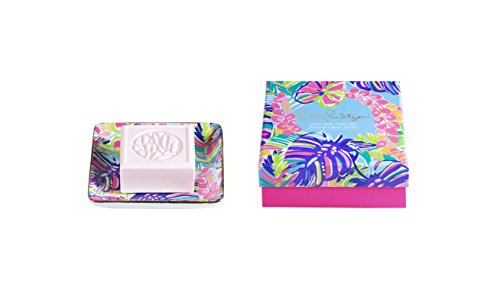 Lilly Pulitzer Soap & Tray Set-Exotic Garden