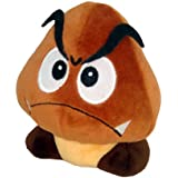 "Little Buddy Official Super Mario Plush - 5"" Goomba Plush"