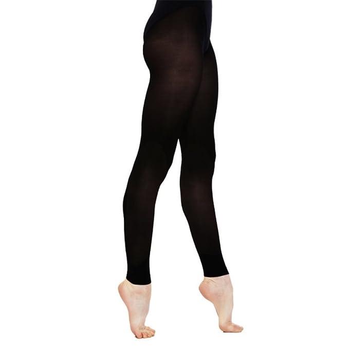 Soyeux sans Pieds Collants de Danse Noir Filles Tailles 10% Spandex   Amazon.fr  Vêtements et accessoires 385fc7ed8e4