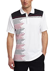 adidas Mens ClimaCool Block Engineered Printed Polo