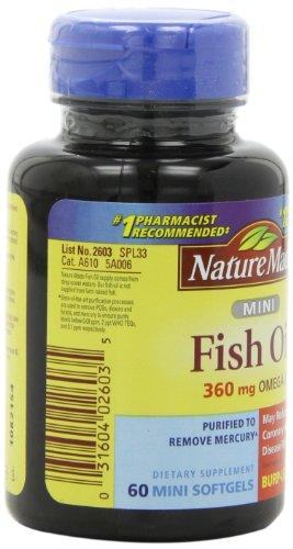 031604026035 - Nature Made Ultra Omega-3 Minis Fish Oil ,360 Mg Omega-3,  60-Count carousel main 7