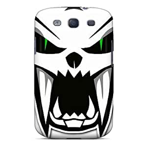 ErleneRobinson Samsung Galaxy S3 Anti-Scratch Hard Phone Covers Allow Personal Design Colorful Arctic Cat Pictures [ZVC7365LiSu]