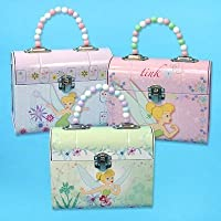 Tinkerbell TIN Purse W/ Beaded Handle Carry-All